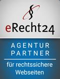 eRecht24 - Agenturpartner für rechtssichere Webseiten
